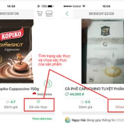 Kiểm tra sản phẩm chính hãng bằng app icheck