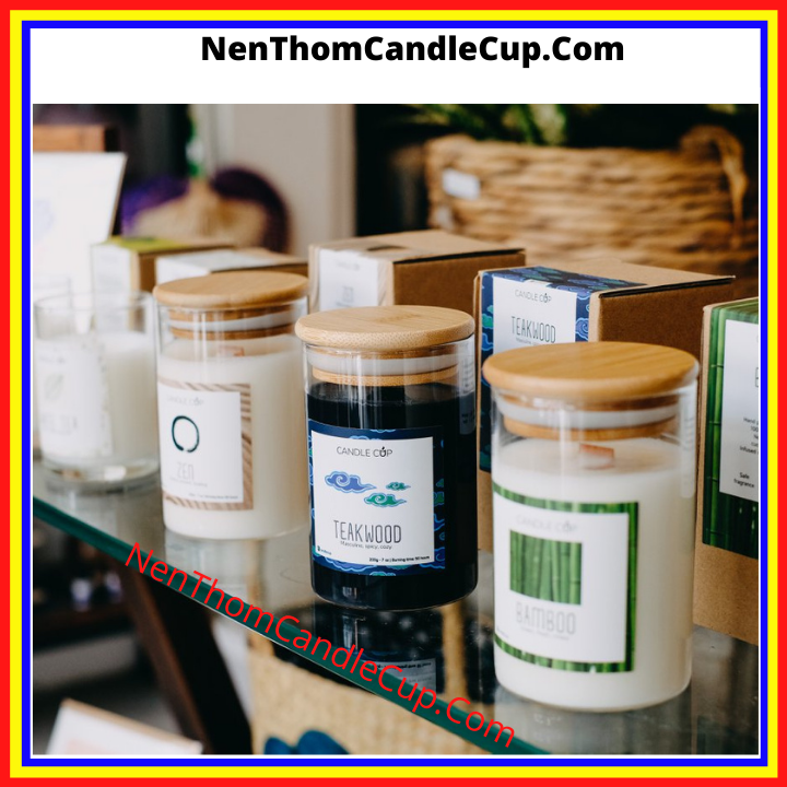 Nến thơm candle cup 14